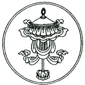 TibetanAuspiciousSymbol1Parasol