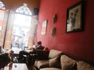 Karma Cafe.