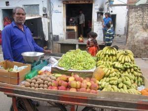 vânzătorul de fructe