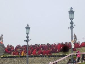 călugării s-au mutat