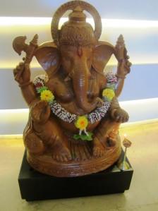 Ganesha păzeşte recepţia