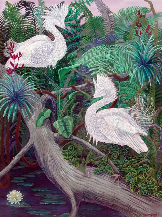jungla egrete