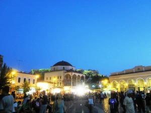 Monastiraki, inima melancolică a Atenei vechi