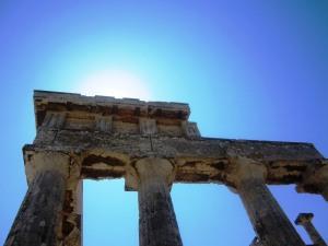 Templul Aphaiei poartă energie solară
