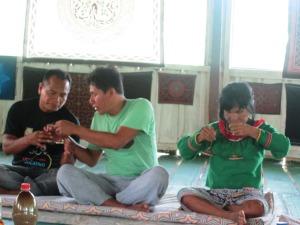pregătirea pentru ceremonie