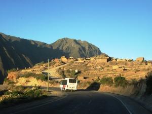 coborând spre Sacred Valley