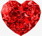 Image result for red diamond heart image