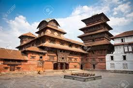 Inside Of Hanuman Dhoka, Old Royal Palace, Durbar Square In ...